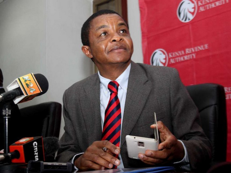KRA Commissioner-General John Njiraini (twitter)