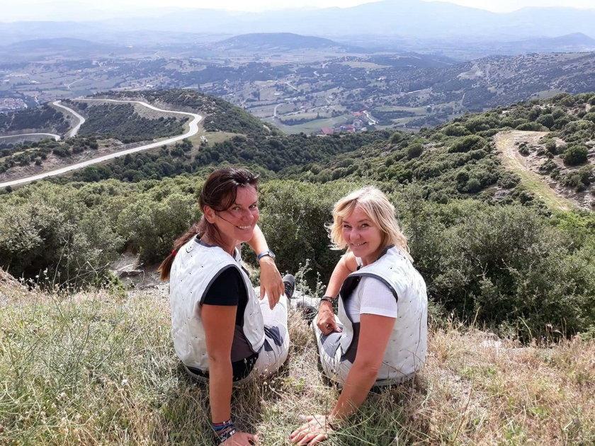 Motocyklistki Sylwia Tarnowska i Joanna Madej zbierały pieniądze dla chorych dzieci