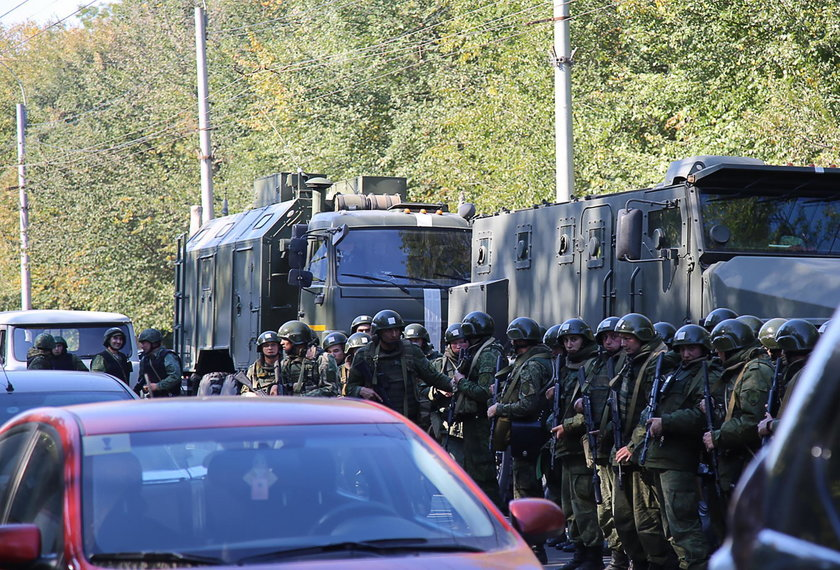 Wybuch i strzały w szkole na Krymie. Zginęło wiele osób