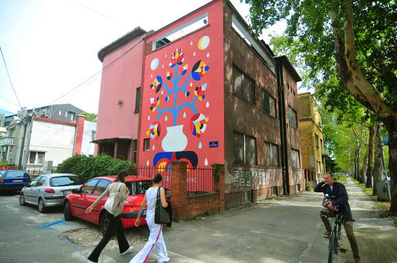 Novi mural krasi zgradu KC Lab