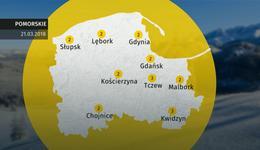 Prognoza pogody dla woj. pomorskiego - 21.03