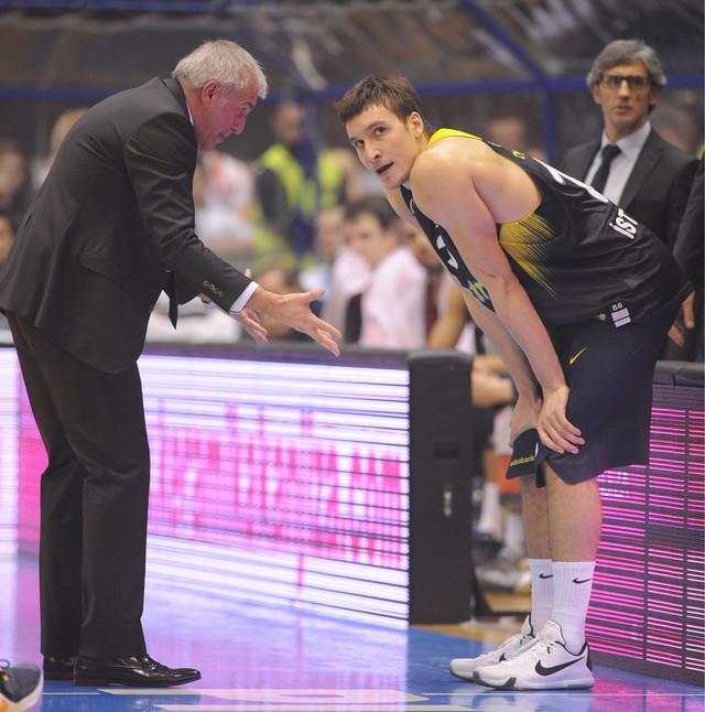 Željko Obradović i Bogdan Bogdanović