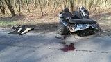 Makabryczny wypadek w drodze do szkoły. Nie żyje 18-latek, jego kolega walczy o życie