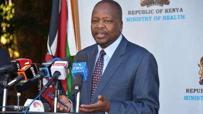 Health CS Mutahi Kagwe addresses MP John Kiarie's claims