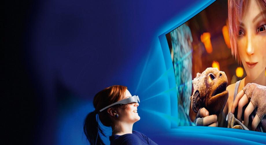 Gear VR: Virtual-Reality-Brille von Samsung zur IFA