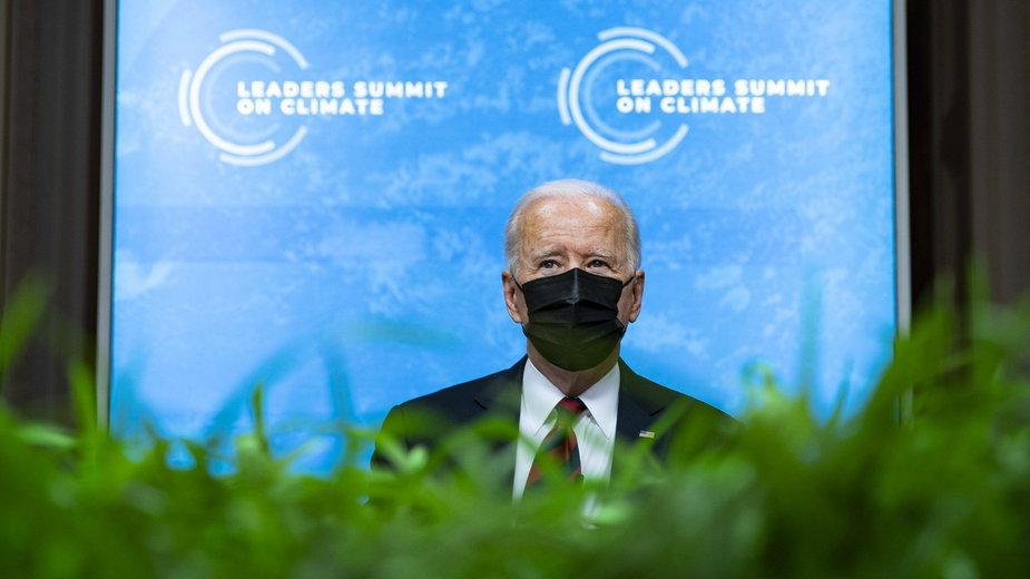 Joe Biden na szczycie klimatycznym