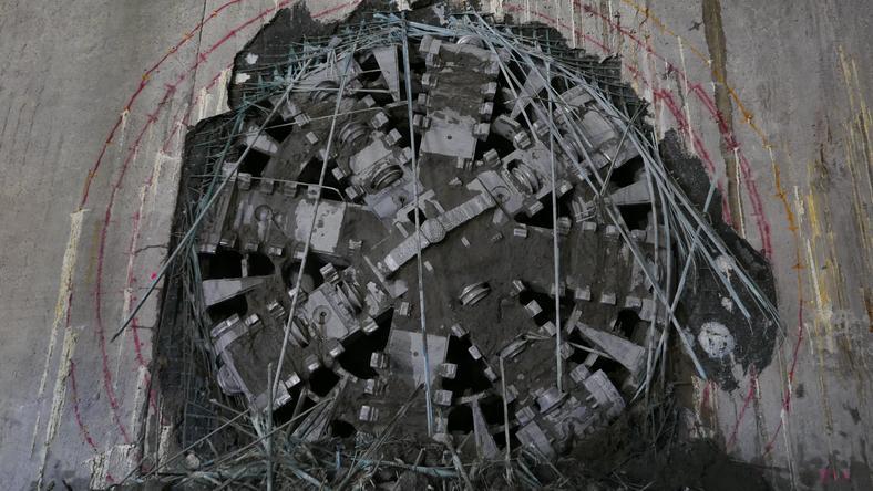 """Tarcza """"Maria"""" przebiła dziś ścianę stacji Targówek"""