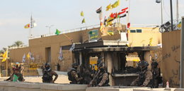 Rakiety spadły w pobliżu ambasady USA w Bagdadzie