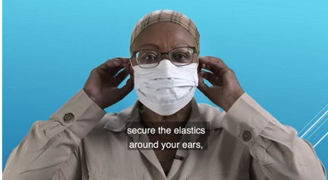 Kako se zapravo nosi maska? Saveti u videu koji sledi