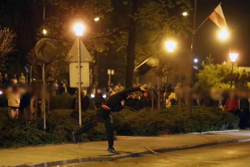Knurów. Zamieszki na ulicach po śmierci kibica
