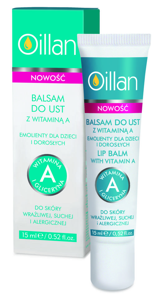 Oillan Balsam do ust z wit. A