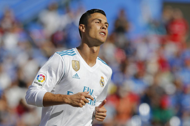 Kristijano Ronaldo na meču sa Hetafeom