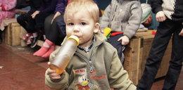 1000 dzieci w podziemnych kryjówkach
