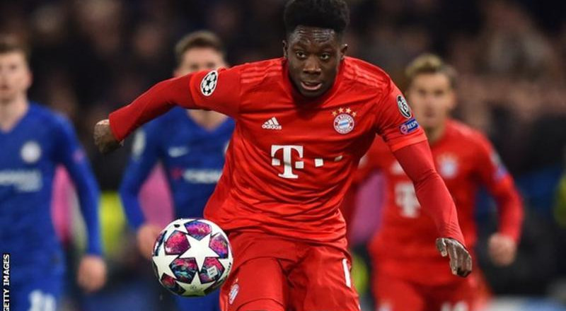 UCL: How Alphonso Davies, born at refugee camp in Ghana orchestrated Chelsea's fall to Bayern Munich
