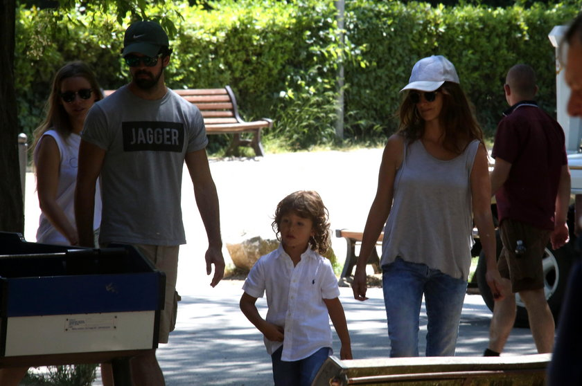 Penelope Cruz z dziećmi
