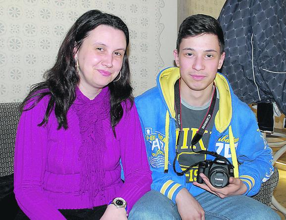 Upornost se isplatila: Valentin sa majkom Viktorijom