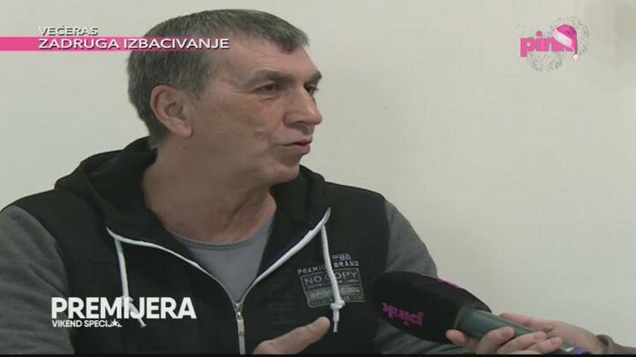 Siniša Kulić jedva izustio reči iz bolnice: Miljanin otac nije dobro!