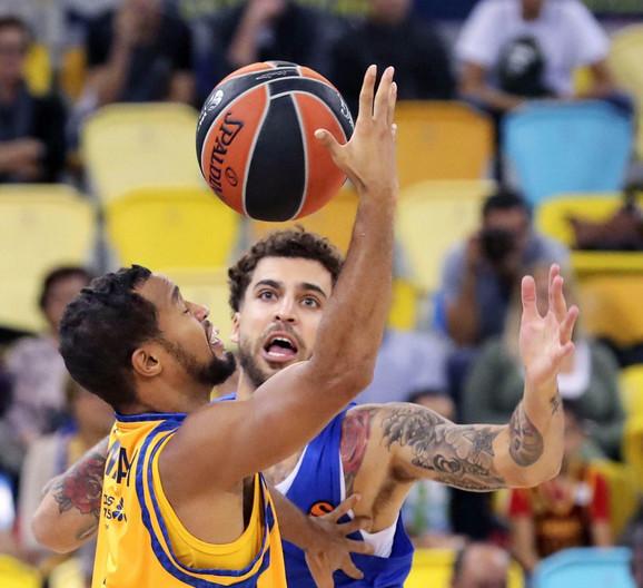Košarkaši Makabija su posle preokreta savladali Darušafaku