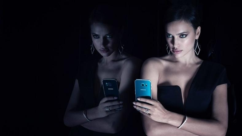 Irina Shayk for Samsung Galaxy S6