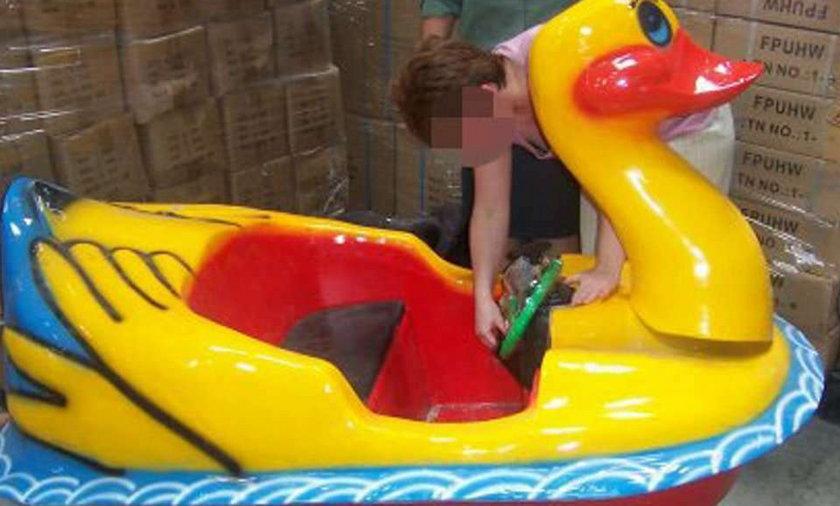 Celnicy zatrzymali zabójcze zabawki z Chin