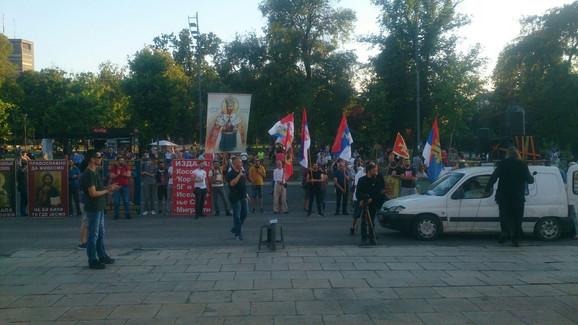 Vernici protestuju zbog potapanja valjevske Gračanice