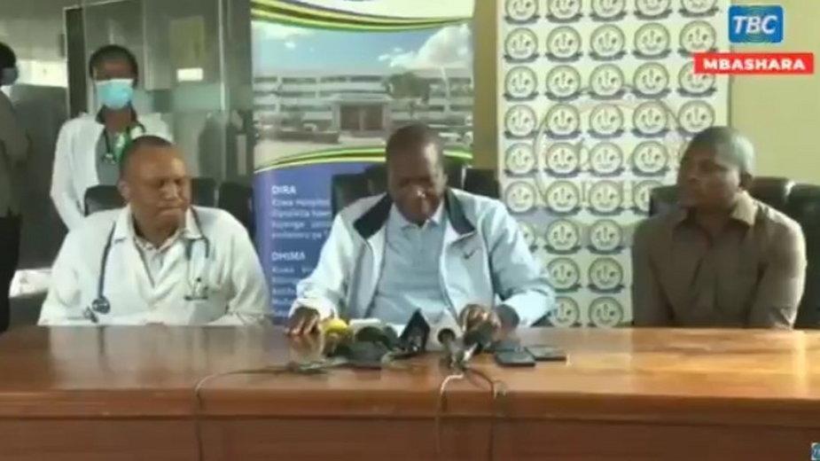 Koronawirus. Minister finansów Tanzanii