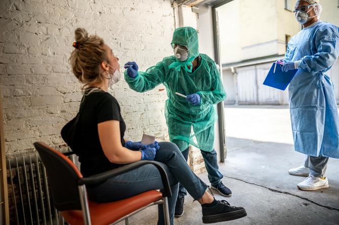 Korona virus testiranje