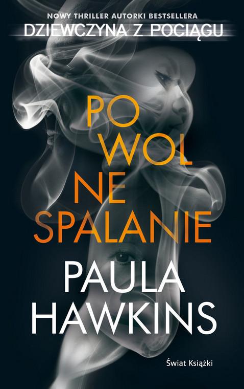 "Paula Hawkins ""Slow burning"" cover fragment"