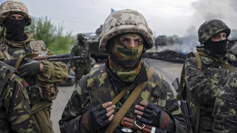 Ukraińska armia pod Słowiańskiem