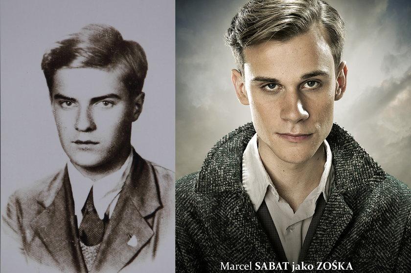 "Tadeusz Zawadzki ""Zośka"" vs Marcel Sabat"