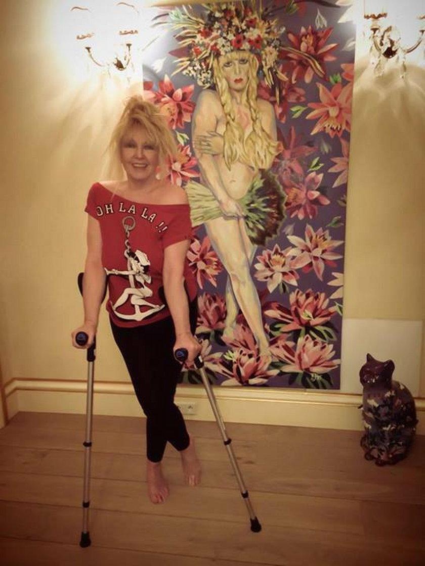 Maryla Rodowicz po operacji