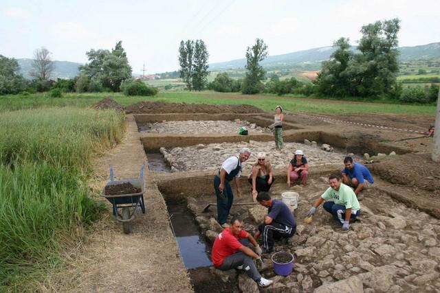 Ekipa arheologa na trasi Via militaris