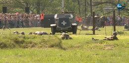 Regularna bitwa na polu. Ludzie zachwyceni