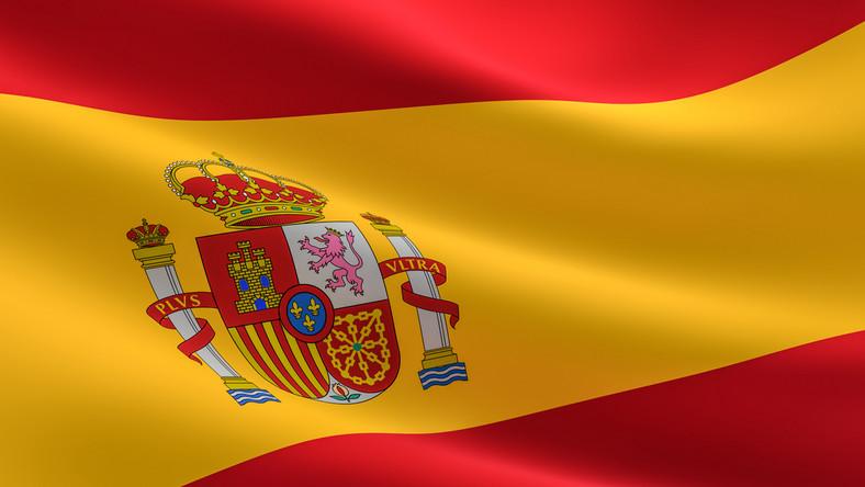 Hiszpania flaga państwo kraj