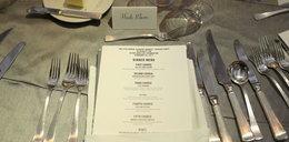 Pokazali menu z bankietu po gali Oscarów