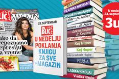"""Danas u """"Blicu"""", poklon knjiga za svačiji ukus!"""