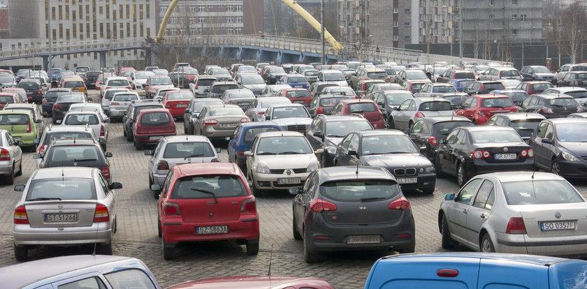 Parkingowy horror w Katowicach