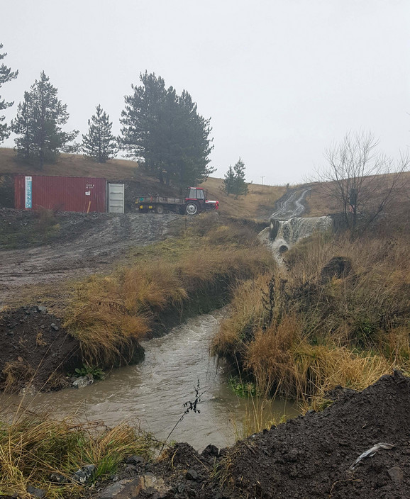Postrojenje se gradi kraj reke Obudojevice