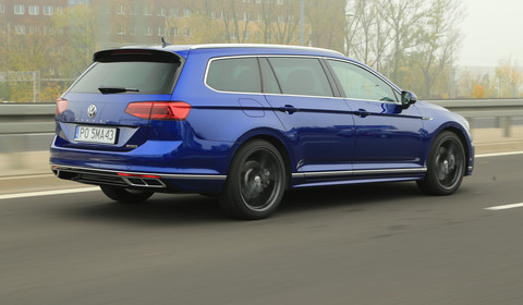 Volkswagen Passat Variant 2.0 TDI 4Motion – topowy diesel mocy ma aż nadto