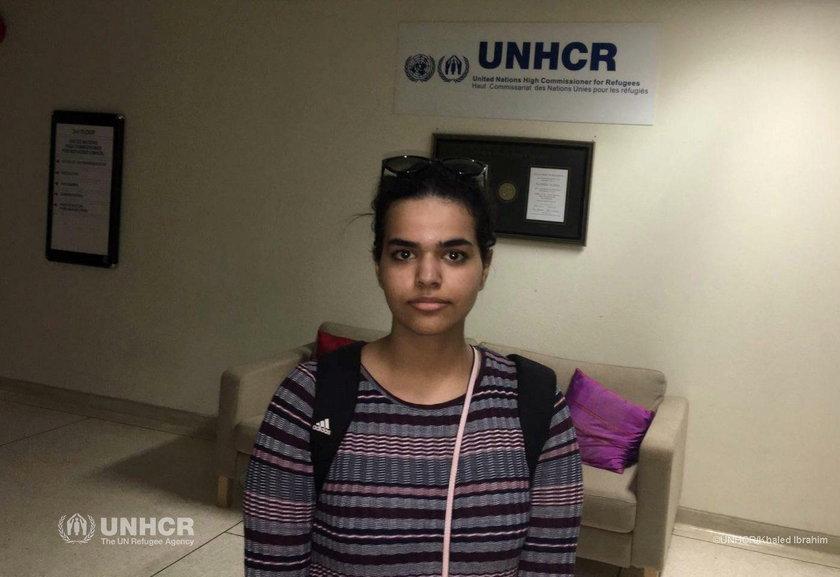 18-letnia Rahaf Mohammed al-Qunun