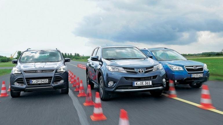 Toyota RAV4 kontra Ford Kuga i Subaru Forester: czy Toyota RAV4 nadal jest najlepsza?