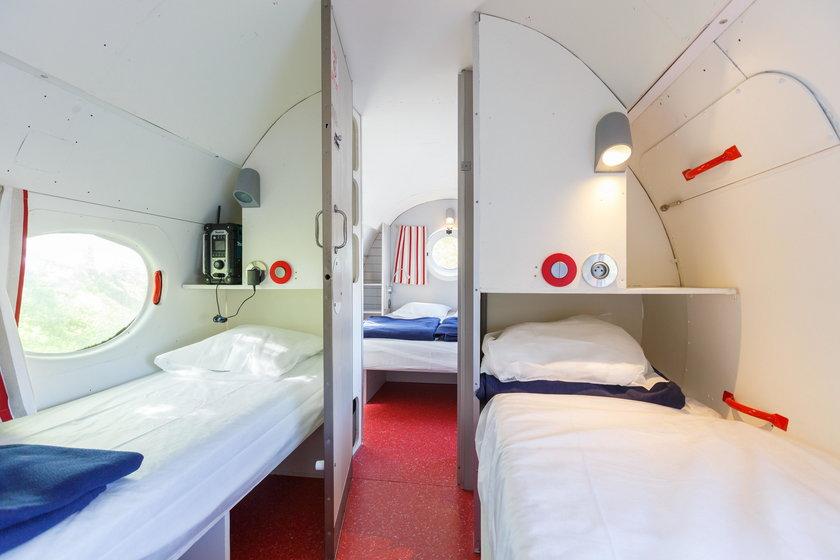 Samolot - hotel