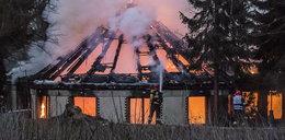 Spłonął Kamienny Kasztel w Parku Śląskim