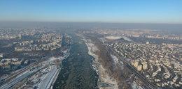 Piękne widoki w centrum mroźnej Warszawy