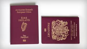 Brytyjczycy wymieniają paszporty na irlandzkie