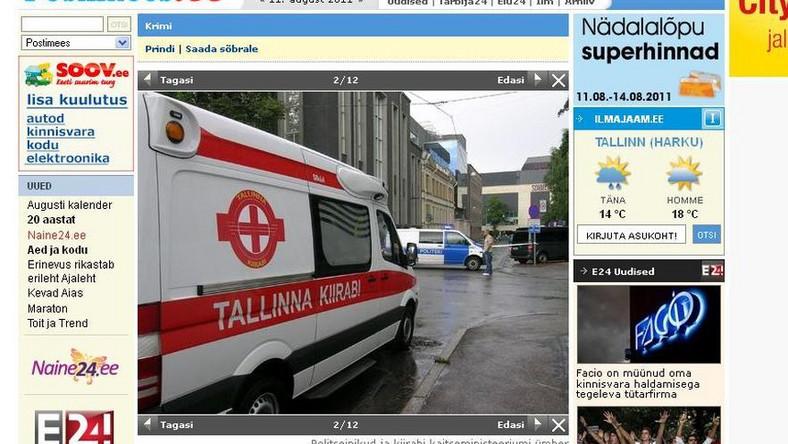 Strzelanina w ministerstwie obrony Estonii