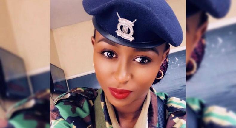 Emma Brenda Wanjiru, a cop and a mom