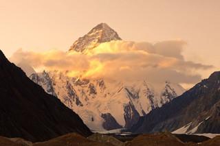 Wyprawa na K2: Denis Urubko schodzi. Dotarł już do C2