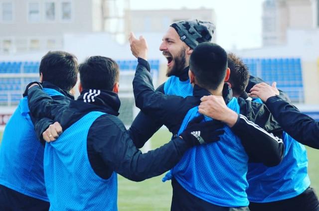 Fudbaleri Kaspija