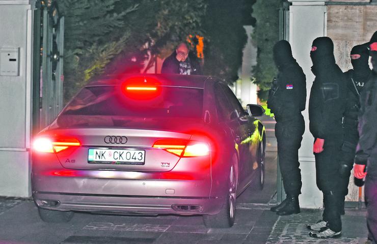 Novi Sad205 Pretres kuce i zaplena automobila radoslava cvijovica cvike foto Nenad Mihajlovic